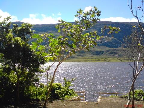 17 Chalé da Lagoa-Vista do acesso privativo a lagoa