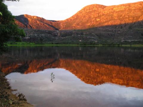 21 Chalé da Lagoa- Por do sol na Lagoa