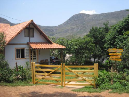 Chalé Azul  entrada do Paraíso Ecológico!